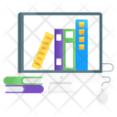 Digital Library Online Library Online Books Icon