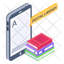 Mobile Article Digital Library Mobile Library Icon
