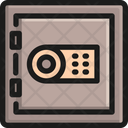 Vault Safety Security Icon