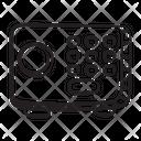 Digital Locker Bank Locker Safe Box Icon