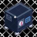Bank Locker Safe Box Safe Storage Icon