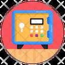 Digital Safe Locker Icon