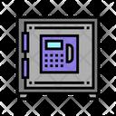 Digital Locker Equipment Safe Icon