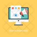 Marketing Internet Advertising Icon
