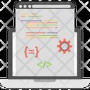 Digital Marketing Optimized Web Page Web Page Analyzer Icon