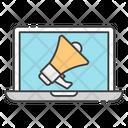Digital Marketing Online Advertisement Publicity Icon