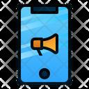 Digital Marketing Mobile Promotion Icon