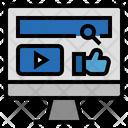 Marketing Social Media Advertise Icon