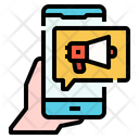 Advertising Digital Content Icon