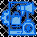 Mobile Gear Money Bag Icon