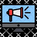 Digital Marketing Online Marketing Advertising Icon