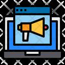 Marketing Website Online Icon