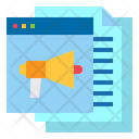 Marketing Website File Icon