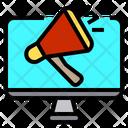 Computer Online Marketing Icon