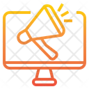 Computer Digital Branding Icon