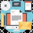Digital Marketing Content Icon