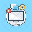 Digital Marketing Media Icon