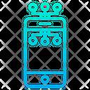 Digital Mobile Smartphone Icon