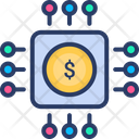 Cryptocurrency Digital Money Icon
