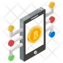 Bitcoin Cryptocurrency Coin Icon