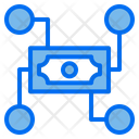 Money Coin Connection Icon