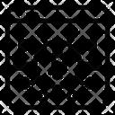 Digital Money Digital Currency Bitcoin Network Icon