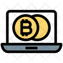Digital Money Bitcoin Money Icon