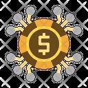 Digital Money Digital Currency Dollar Icon