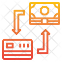 Exchange Currency Credit Card Icon