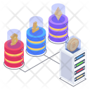 Finance Network Money Technology Currency Storage Icon