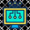 Digital Monitor Icon