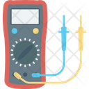 Digital Multimeter Digital Voltmeter Gage Electrometer Icon