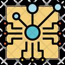 Digital Network Icon