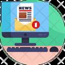 News Broadcasting Icon