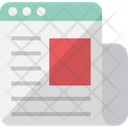 Digital newsletter Icon