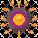 Digital Nft Network Icon