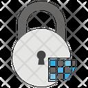 Lock Security Digital Padlock Icon