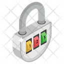 Digital Padlock Icon