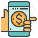 Digital Payment Mobile Icon