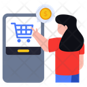 Mobile Payment Digital Payment Online Payment Icon