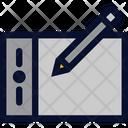 Digital Pen Tablet Icon