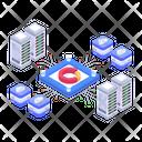 Digital Platform Storage Platform Storage Analytics Icon