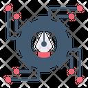 Digital Process Design Digital Icon