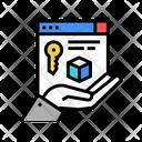 Digital Processing Security Security Digital Icon