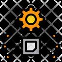 Digital Processor Maintenance Icon