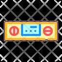 Digital Protractor Measuring Icon