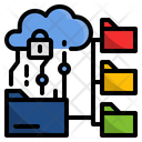 Digital Data Security Icon