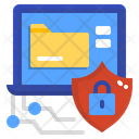 Digital Data Security Icon