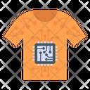 Digital Shirt Icon