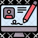 Digital Signaturem Icon